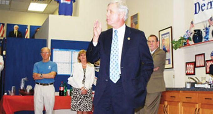 Dalton Asks Locals to Help Him to Become Governor