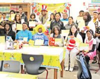 Students get creative with Dr. Seuss