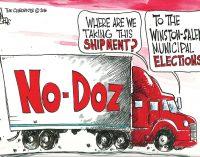 Editorial Cartoon: Special Delivery