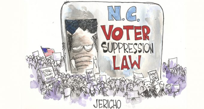 LETTERS TO THE EDITOR: Removal of Confederate flag, Greensboro Law
