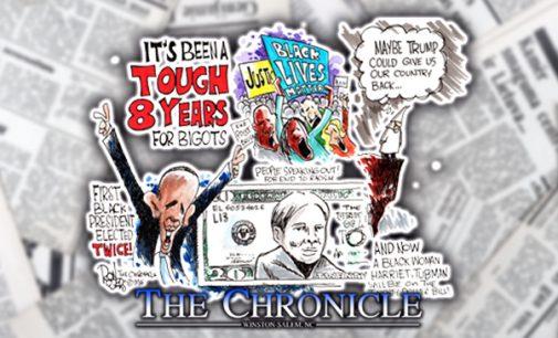Editorial Cartoon: Tough 8 Years