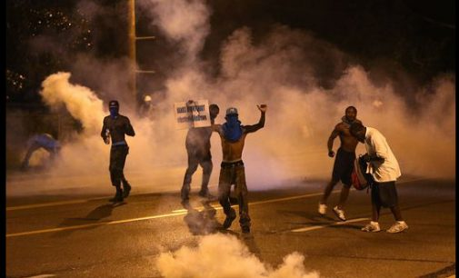 Blacks outraged by Ferguson grand jury decision