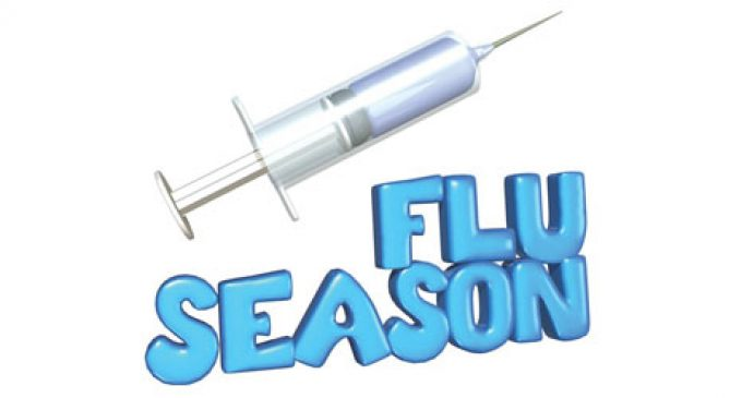Get free flu shots starting Oct. 1