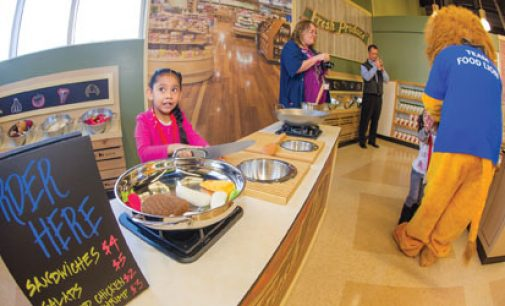 New exhibit puts kids in charge of store