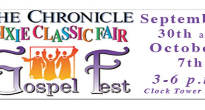Join Us at The Chronicle Dixie Classic Fair Gospel Fest