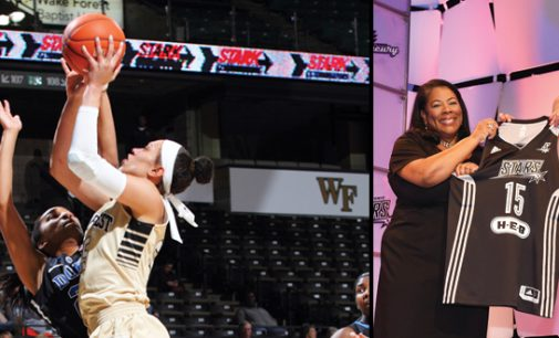 Next level for Wake Forest's Hamby: Headed to WNBA