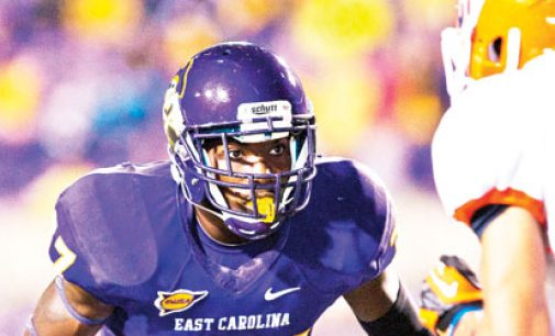 Hawkins earns respect at ECU