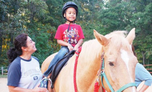 Center provides horseback therapy