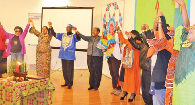 Kujichagulia celebration brings crowd to Delta Arts Center