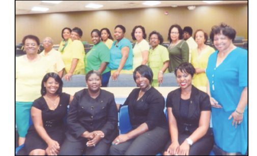 Local nurses inducted into Chi Eta Phi