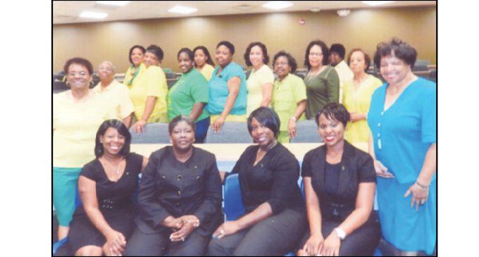 Local nurses inducted into Chi Eta Phi