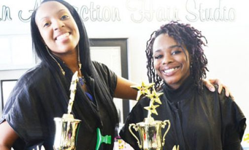 Local salon competes and wins at acclaimed hair show