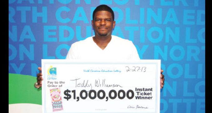 Greensboro barber wins  $1 million