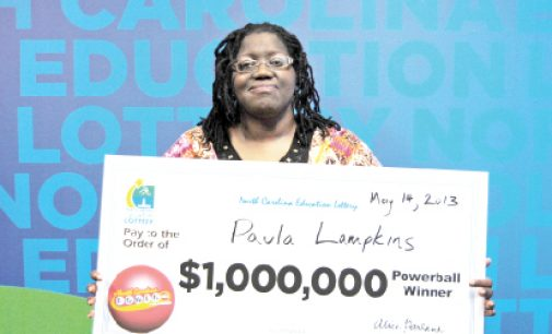 Local woman to buy home after $1 million lottery win
