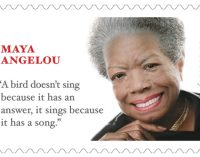 Maya Angelou stamp can be ordered for delivery in April