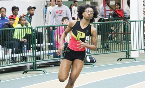 Parkland sprinter impresses in winter season