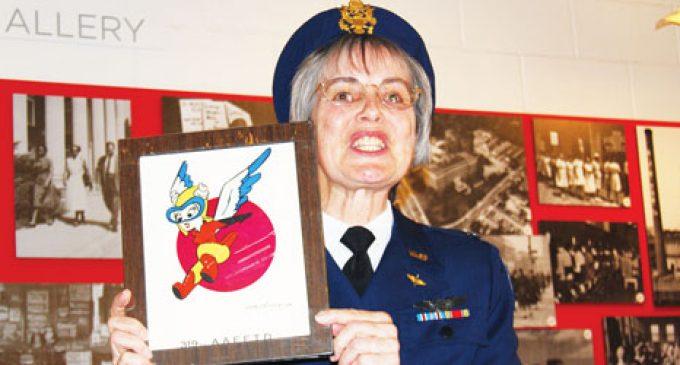 Stories of trailblazing military women shared