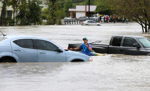 'Fire hose' of moisture slams South Carolina
