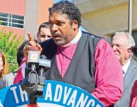 Civil rights leader Barber honored for 25 years as pastor