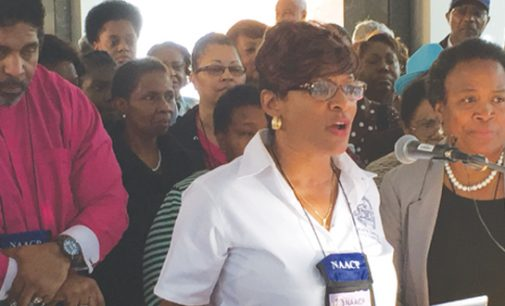 N.C. NAACP women blast Sen. Burr on his record
