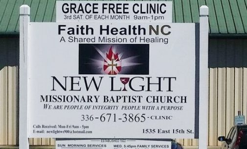 Church opens its new free clinic