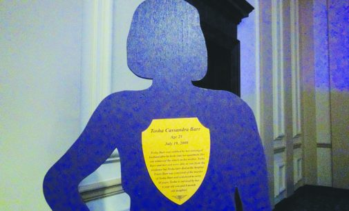 'Silent witnesses'  silhouettes highlight  domestic violence  awareness  By Tori P. Haynesworth For The Chronicle