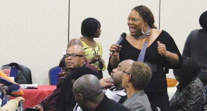 Forum centers on educational gap