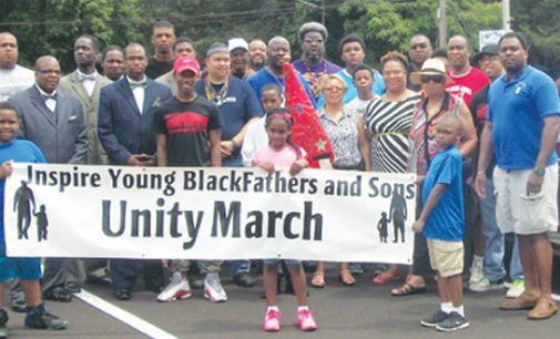 "'Honor Your Father"" march and speaker center on support"
