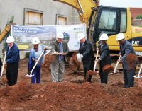 Officials look to future as ground  broken for new Central Library