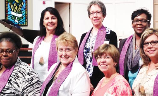 Congregational nursing course graduates six