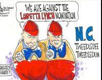N.C. senators against Lynch on wrong side