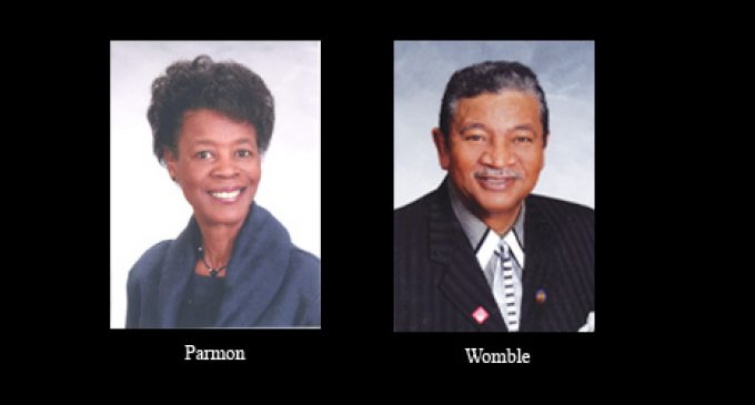 Lodge to honor Parmon and Womble