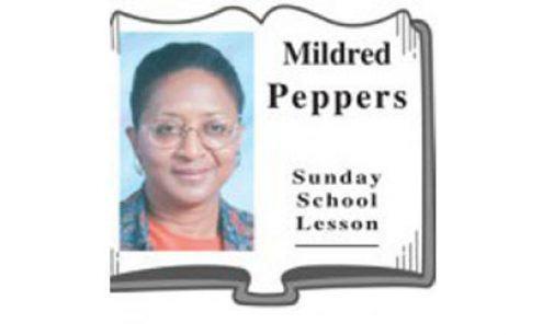 Mildred Peppers Sunday School Lesson