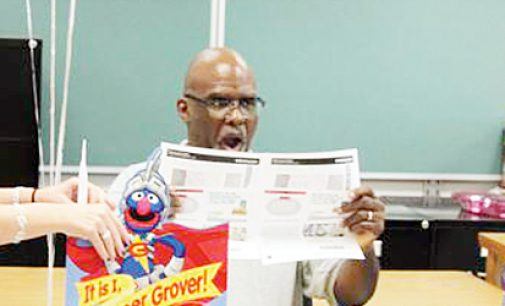 Surprise for Superhero principal