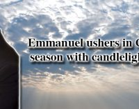 Emmanuel ushers in Christmas season with candlelight service