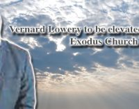 Vernard Lowery to be elevated to deacon at Exodus Church
