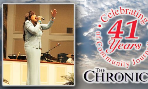 Vicki Winans celebrates Resurrection Sunday with Greater Cleveland Avenue