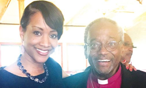 Episcopal locals beam over first black top bishop
