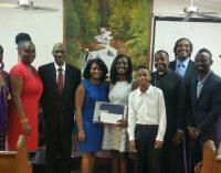 Reynolds graduate receives Mt. Moriah Outreach Center scholarship award