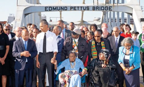 Obama marks Selma March milestone