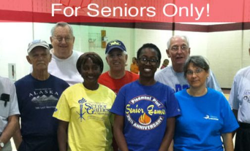 For Seniors Only!: The Fall Senior Games sponsored by Winston-Salem Recreation Department
