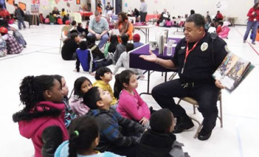 Sit-in movement focus of school's Read-in