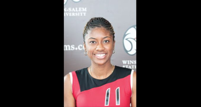 Volleyball honor for WSSU's Smith