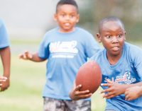 'FUNdamentals' camp offers three days of football and life lessons