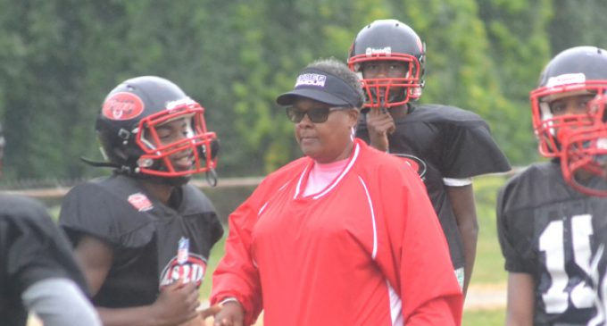Lambson is first female football coach in N.C.