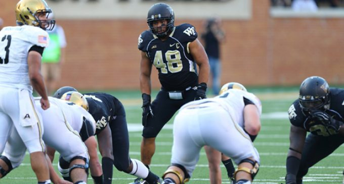 Chubb eager to help Wake Forest end its bowl-game drought