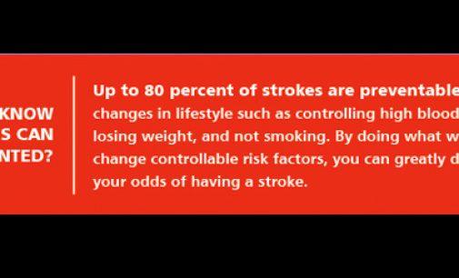Preventative Care:  Stroke is North Carolina's leading cause of death & disability