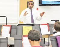 Diehard educator wins classroom goodies