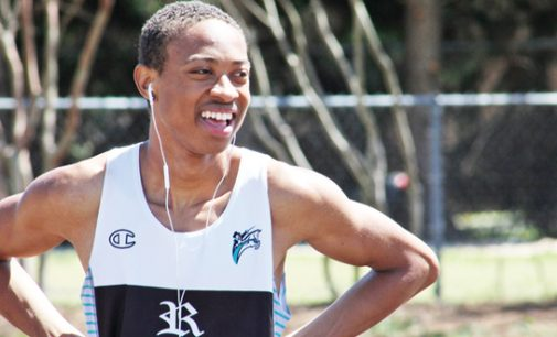 Reagan High 400 sprinter is on a mission