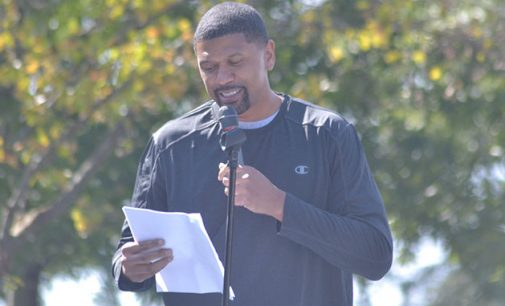 Former NBA star Jalen Rose helps Hanes celebrate Champion Day